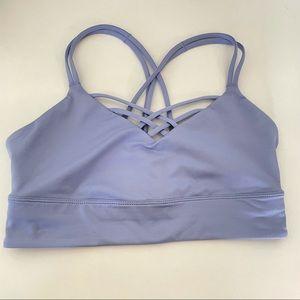 Joy lab lilac sports bra | size small